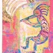 Kokopelli Sleepy Dance Poster