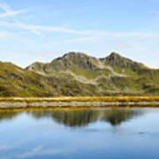 Konigsleiten Mountain Top. Tyrol, Austria Poster