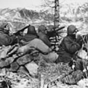 Korean War: Soldiers Poster