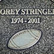 Korey Stringer Tribute Poster
