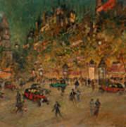 Korovin, Konstantin 1861-1939 Les Grands Boulevards, Paris Poster