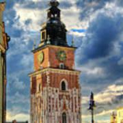 Krakow Town Hall Poster