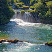 Krka National Park Waterfalls 5 Poster