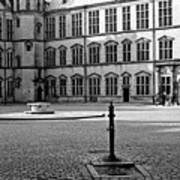 Kronborg Castle Courtyard Poster