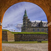 Kronborg Castle Through The Archway Poster