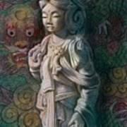 Kuan Yin Dragon Poster
