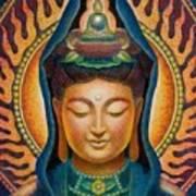 Kuan Yin Flame Poster