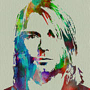 Kurt Cobain Nirvana Poster