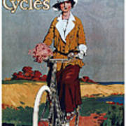 Kynoch Cycles - Bicycle - Vintage Advertising Poster Poster