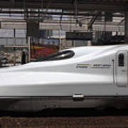 Kyushu Bullet Train Locomotive Poster
