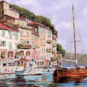 La Barca Rossa Alla Calata Poster