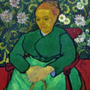 La Berceuse, Portrait Of Madame Roulin, 1888-1889, Kroller-mulle Poster