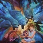 la flautista III Poster