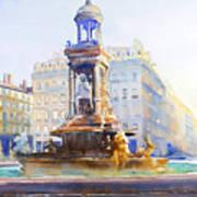 La Fontaine Des Jacobins Poster