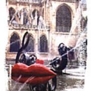 La Fontaine Stravinski Poster