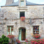 La Gacilly, Morbihan, Brittany, France, Shop Poster