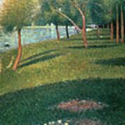 La Grande Jatte Poster by Georges Pierre Seurat