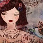 La Jolie Poupee Et L' Oiseau Poster