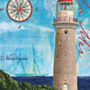 La Mer Poster by Debbie DeWitt