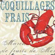 La Mer Shellfish 2 Poster by Debbie DeWitt