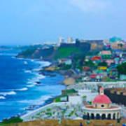 La Perla In Old San Juan Poster