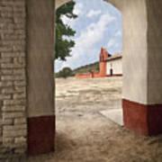 La Purisima Arch Poster