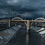 Los Angeles River Autumn 2015 Poster