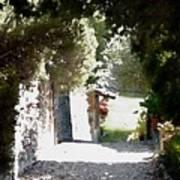 La Romita Garden Path Poster