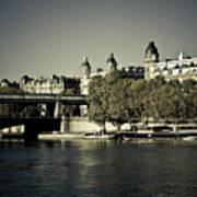 La Seine I Poster