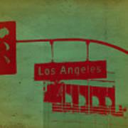La Street Ligh Poster