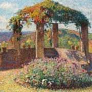 La Tonelle De L'angle Nord-ouest Du Parc De Marquayrol Poster