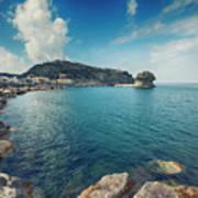Lacco Ameno Harbour ,  Ischia Island Poster