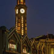 Lackawanna Clock Tower Poster