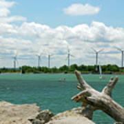 Lackawanna Wind Farm 5079 Poster