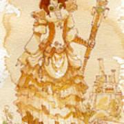 Lady Codex Poster by Brian Kesinger