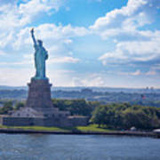 Lady Liberty Ny Harbor Poster