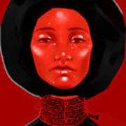 Lady Red Poster