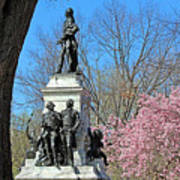 Lafayette Square Named For General Marquis Gilbert De Lafayette Poster