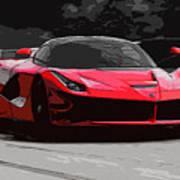 La Ferrari Poster