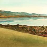 Lago Del Coghinas Poster