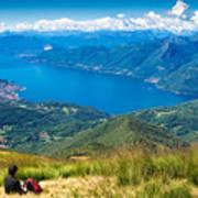 Lago Maggiore Italy Switzerland Poster