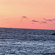 Laguna Beach Sunset Poster