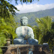 Lahaina Buddha At Jodo  Poster