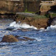 Lajolla Rocks Poster