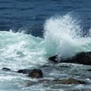 Lajolla Surf Poster