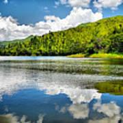 Lake Agua Blanca Poster