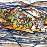 Lake Casitas I Poster