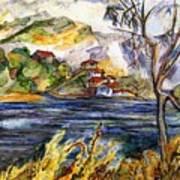 Lake Casitas IIi Poster