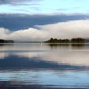 Lake Cobb'see Poster by Dana Patterson