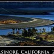 Lake Elsinore Sunset Poster